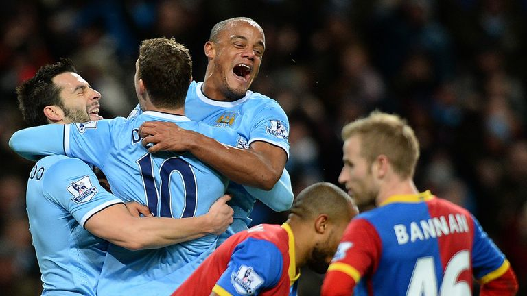 City: Celebrate going top of the table with win over Crystal Palace