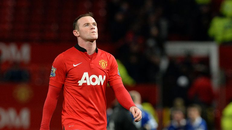 Wayne Rooney: Manchester United striker hampered by groin problem