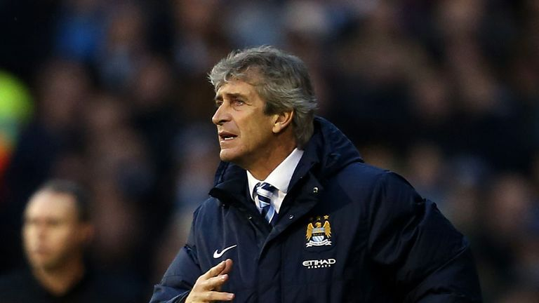 Manuel Pellegrini: Believes the away form is improving