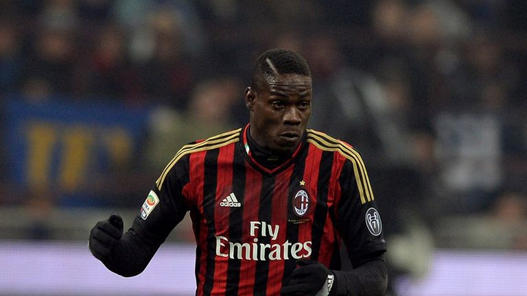 Mario Balotelli: Injured for the visit of Juventus