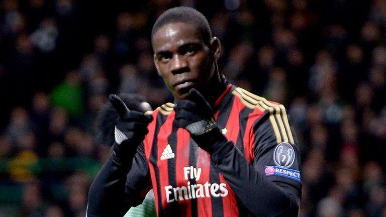 Mario Balotelli: Played down his reputation