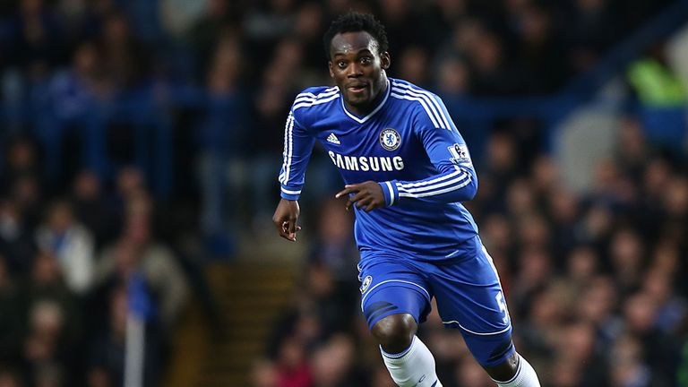 Michael Essien: Could be set for AC Milan loan