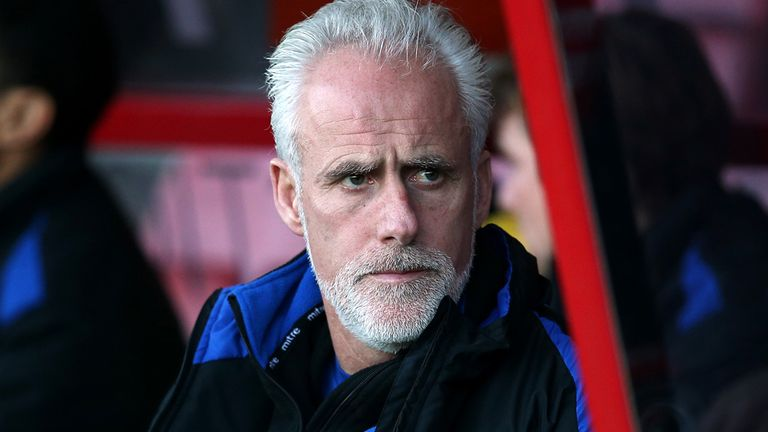 Mick McCarthy: Played down Ipswich's play-off hopes