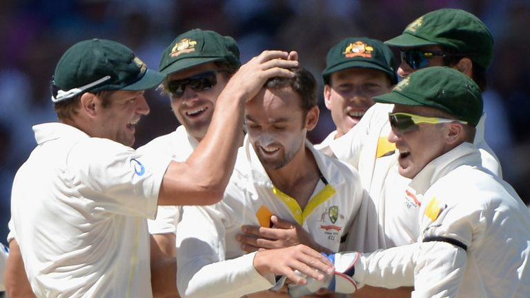 Nathan Lyon: Set to retain his place in the Australia team