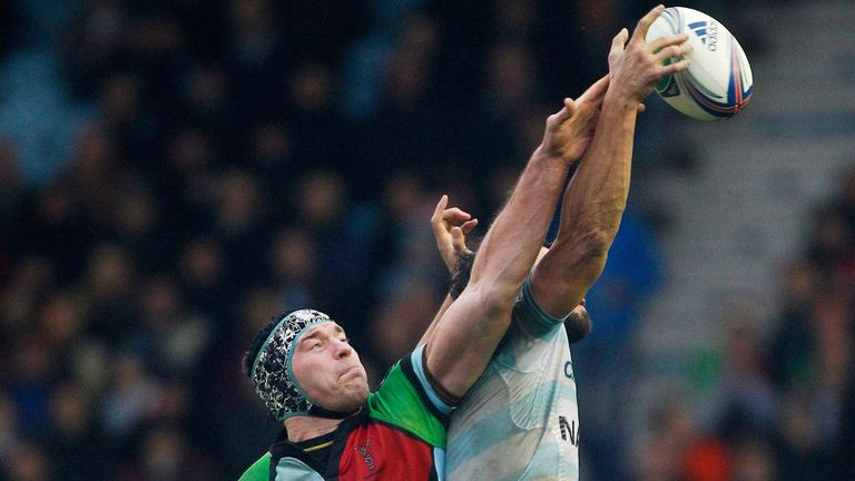 Nick Kennedy: Will make his first start for Harlequins on Saturday