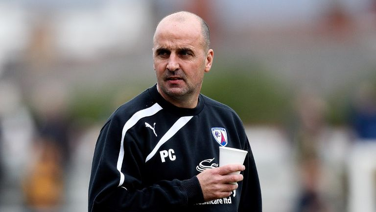 Paul Cook: Chesterfield manager up for award