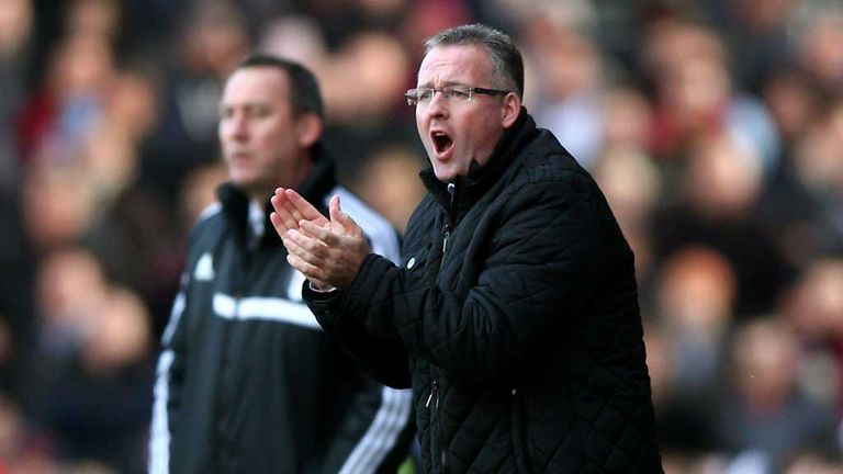 Aston Villa manager Paul Lambert fears the sack