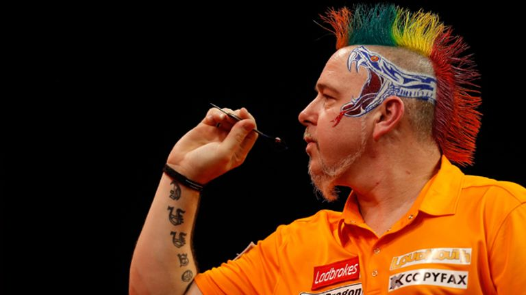 Peter Wright: Beat Wes Newton 5-4 to move into the semi-finals