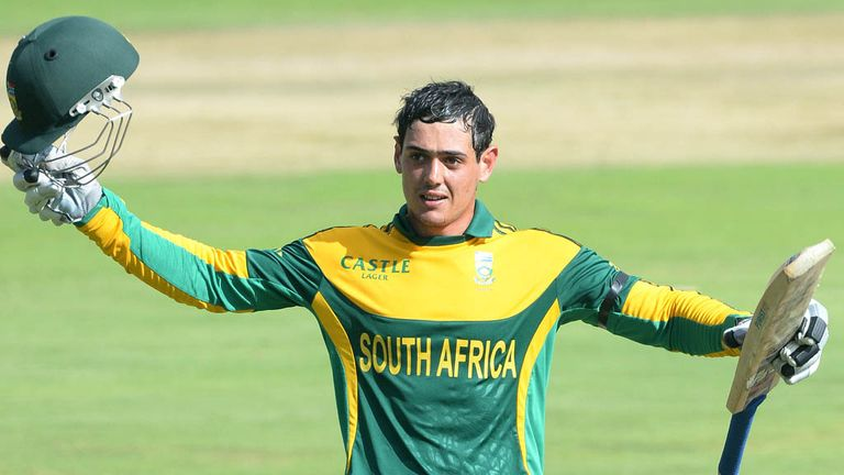 Quinton de Kock: South Africa contract for hard-hitting batsman