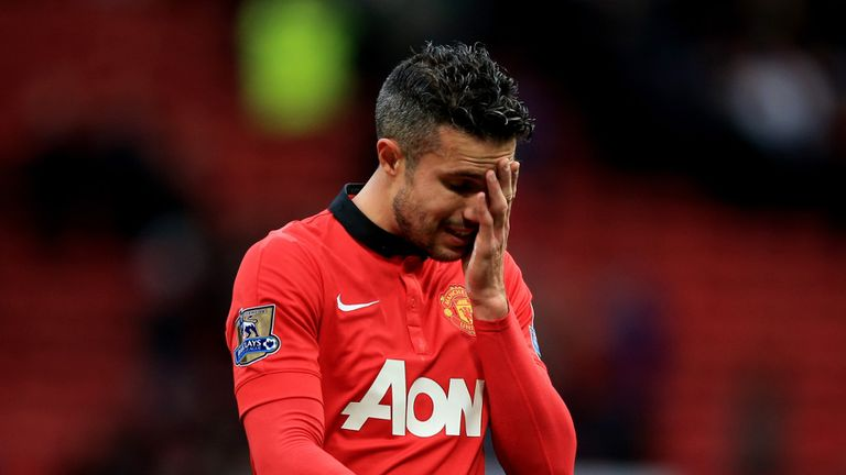 Robin van Persie: Man Utd striker has featured just twice in two months