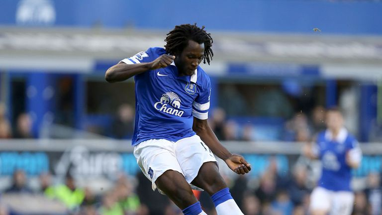 Romelu Lukaku: Has been in good form with Everton