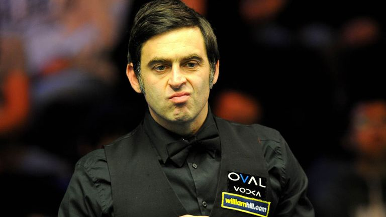 Ronnie O'Sullivan: Won four successive frames after the mid-session interval