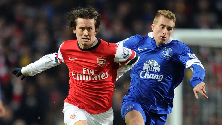 Tomas Rosicky: Happy at Arsenal and keen to sign new deal