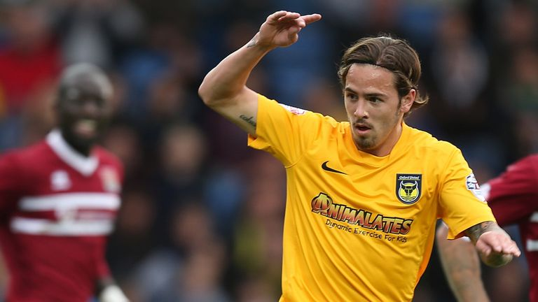 Ryan Williams: Extends his stay at the Kassam Stadium