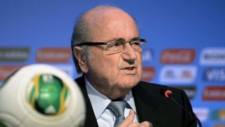 Sepp Blatter: Critical of Brazil