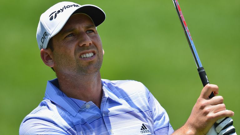 Sergio Garcia: Tied at the top after a memorable second day