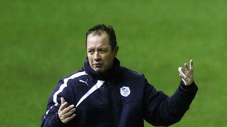 Stuart Gray: Disappointed with the way Sheffield Wednesday surrendered a two-goal lead against Nottingham Forest
