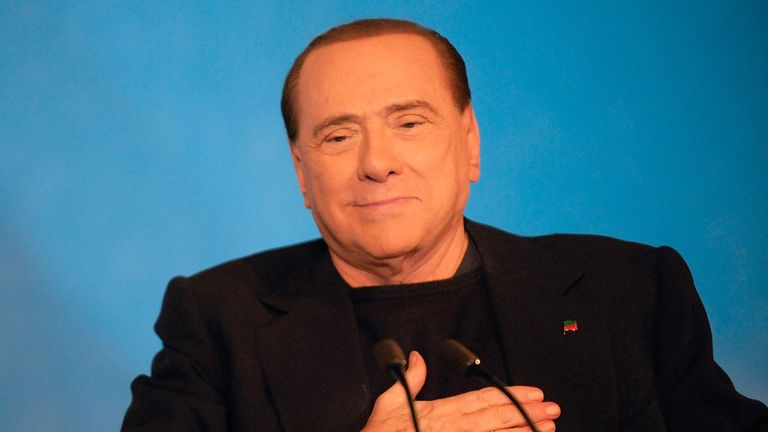 Silvio Berlusconi: AC Milan owner denies club is for sale