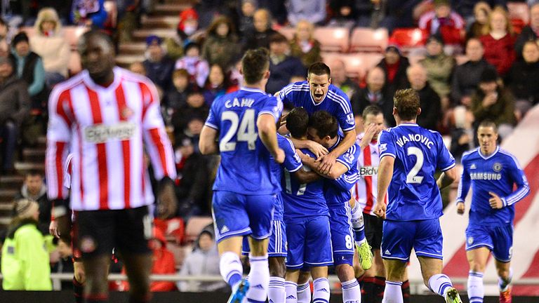 Chelsea: Celebrating another Eden Hazard goal