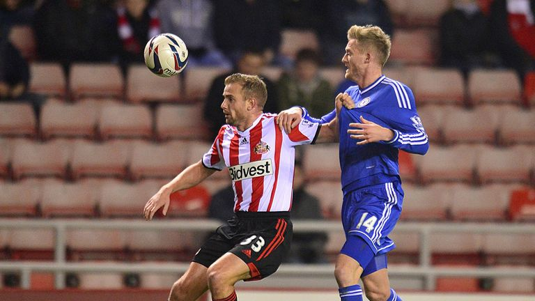 Lee Cattermole: Holds off Andre Schurrle
