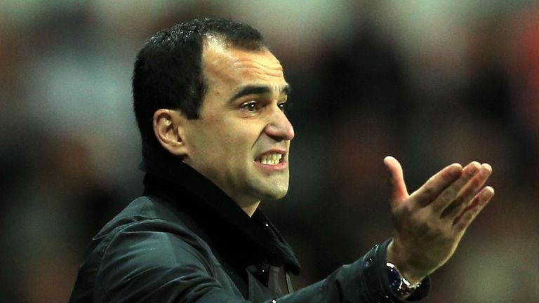 Roberto Martinez: Expects tough match against Southampton