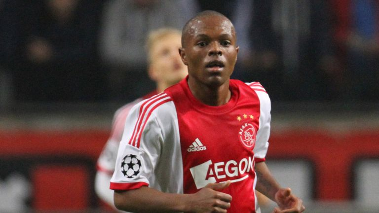 Thulani Serero: Scored crucial goal for Ajax in win over ADO Den Haag