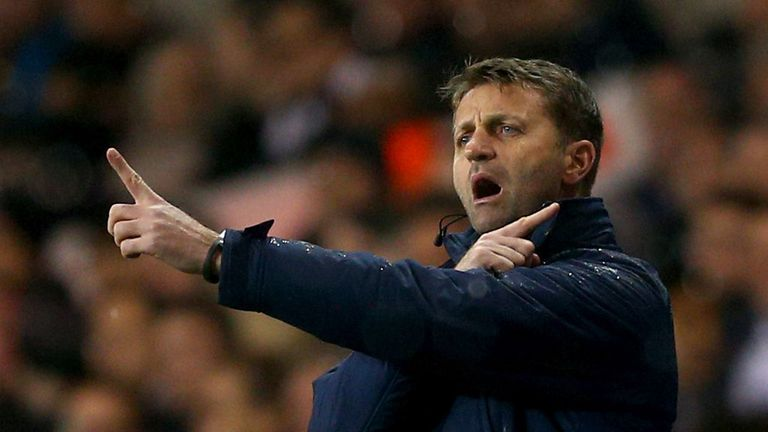 Tim Sherwood: Will manage Tottenham in their game against Southampton