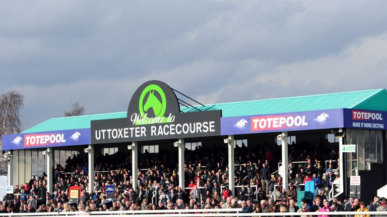 Uttoxeter: Needing some respite to race