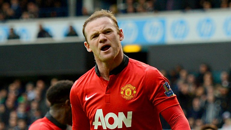 Rooney: set to make his 500th club appearance