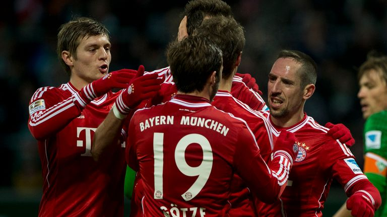Bayern Munich: Will travel to Hamburg in the quarter-finals of the DFB-Pokal