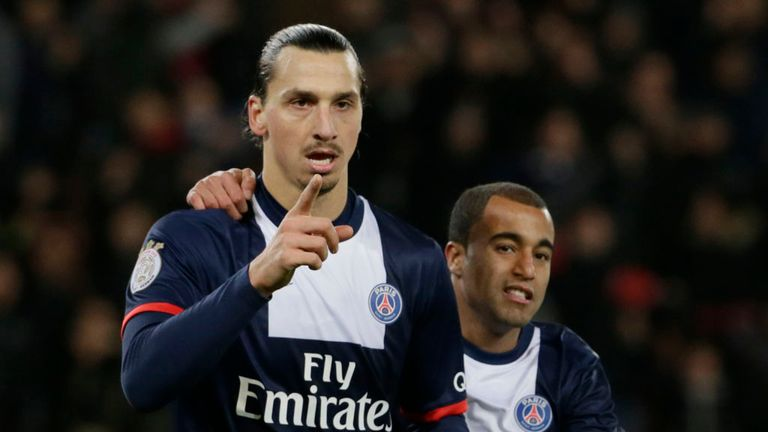 Zlatan Ibrahimovic: Bagged a brace against Sochaux