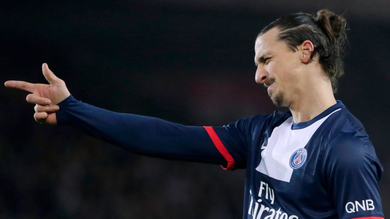 Zlatan Ibrahimovic: Hoping to help PSG shoot down Ajaccio