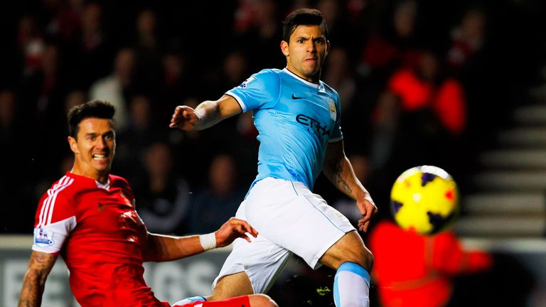 Sergio Aguero: Better than Luis Suarez, according to Manuel Pellegrini