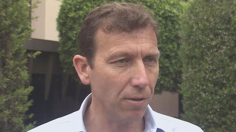 Michael Atherton suffered from injury problems in his England career