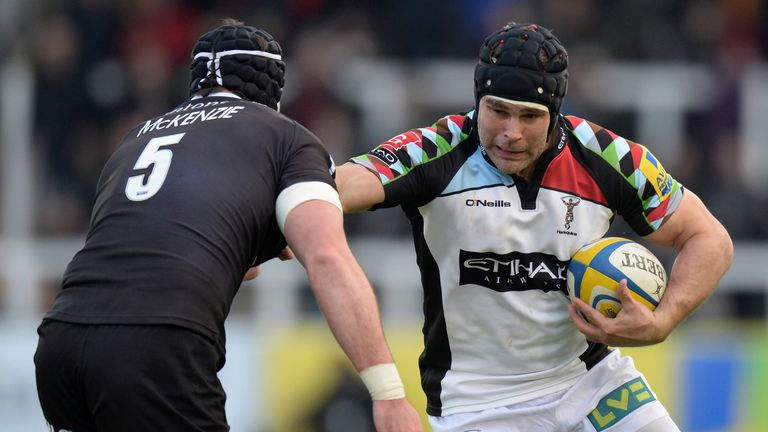 Nick Easter: Quins are starting to fire again