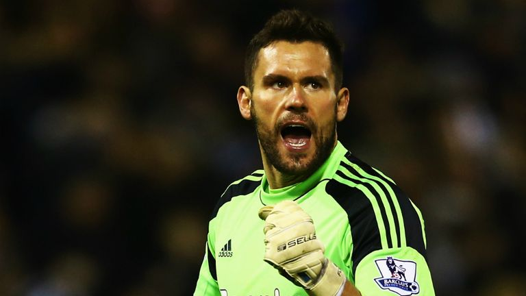 Ben Foster: Delighted with a crucial victory as the relegation battle rumbles on