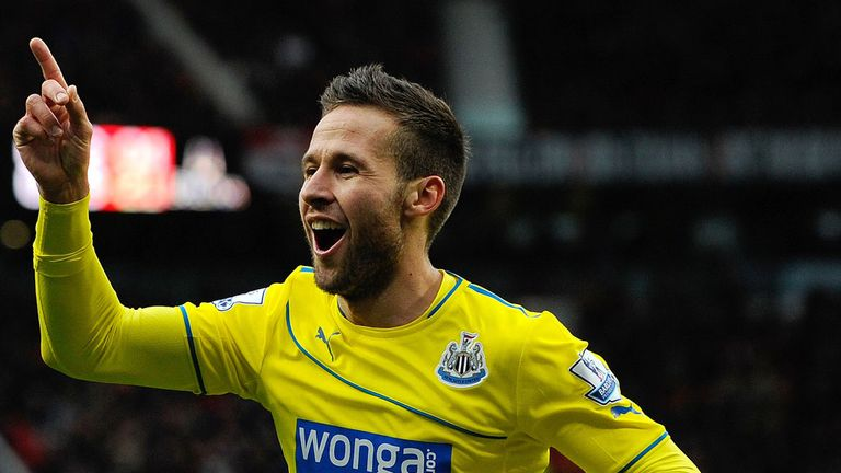 Yohan Cabaye: Not for sale according to Alan Pardew