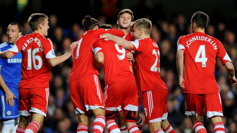 Jay Rodriguez: Celebrating Southampton's early advantage