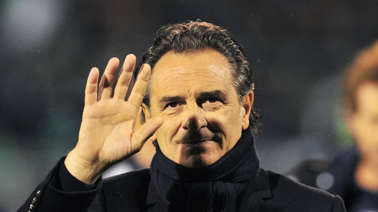 Cesare Prandelli: Has played down Tottenham link