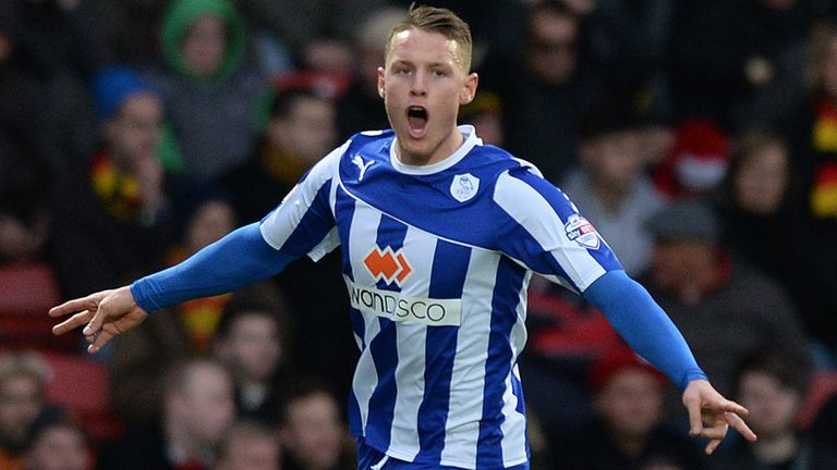 Wickham: set Sheffield Wednesday on course for win over Blackpool