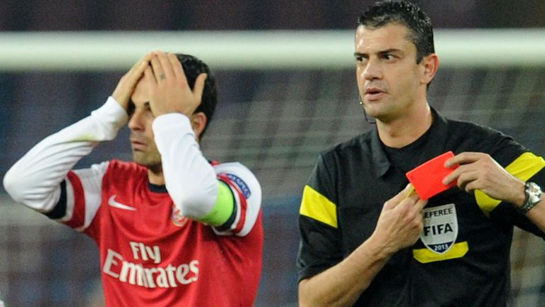 Mikel Arteta: Arsenal midfielder unhappy with schedule