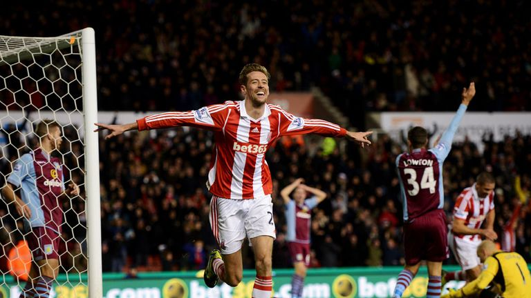Peter Crouch: Stoke striker going nowhere, according to Mark Hughes