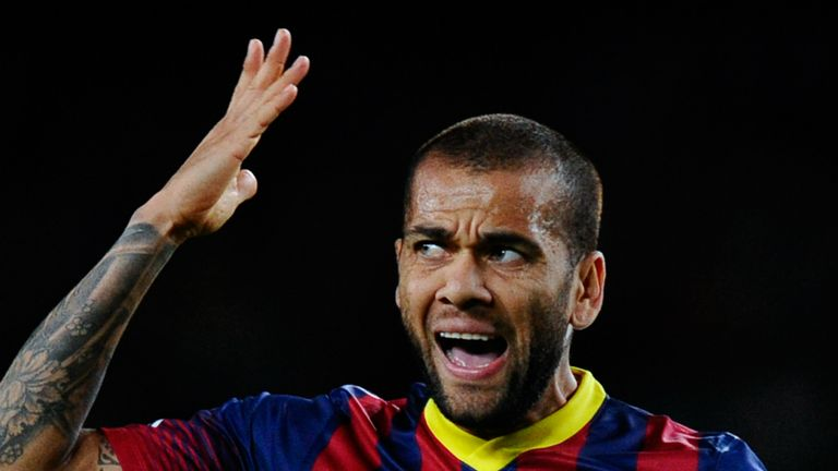 Dani Alves: Victim of racist abuse at Villarreal