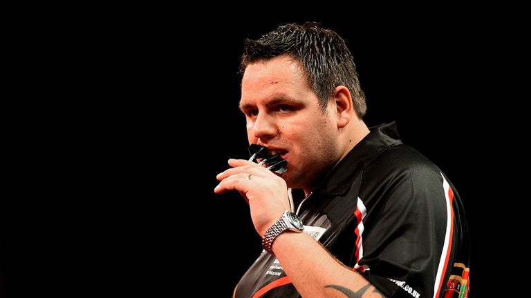 Adrian Lewis came from 6-3 to draw with Michael van Gerwen
