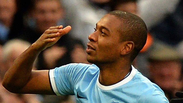 Fernandinho grabbed a double against Arsenal