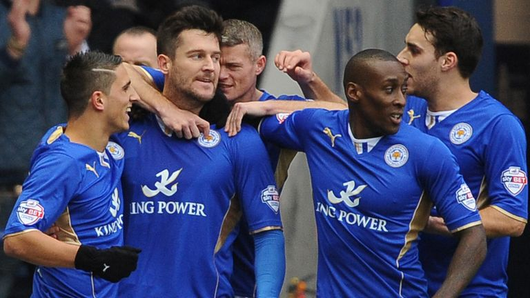 Leicester are poised for a return to the Premier League after ten years away