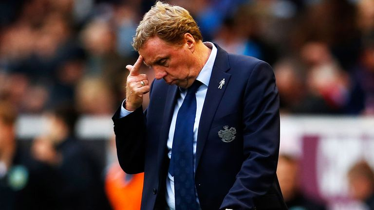 Harry Redknapp: Keeping his cool despite sack talk