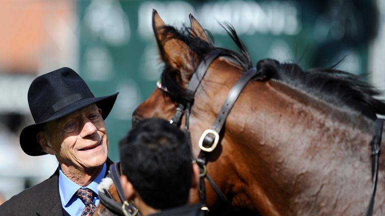 Racing great: Legendary trainer Sir Henry Cecil passed away in June