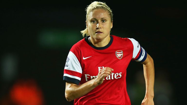 Alex Scott says former Arsenal team-mate Steph Houghton will be a great player for Manchester City