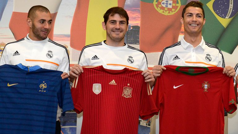 Iker Casillas: Speaks at a press conference on Tuesday